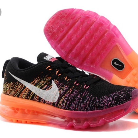 44cbf1ca5450 Nike Flyknit Air Max!! Pink and Orange. M 5bfdb9f0c89e1d6e84cd4822